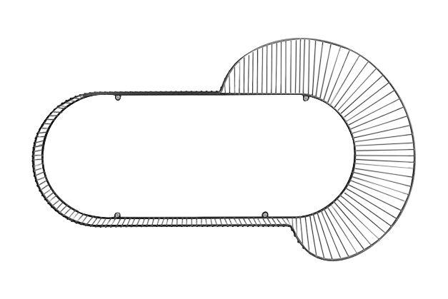 Loop Corolle Shelf by Petite Friture