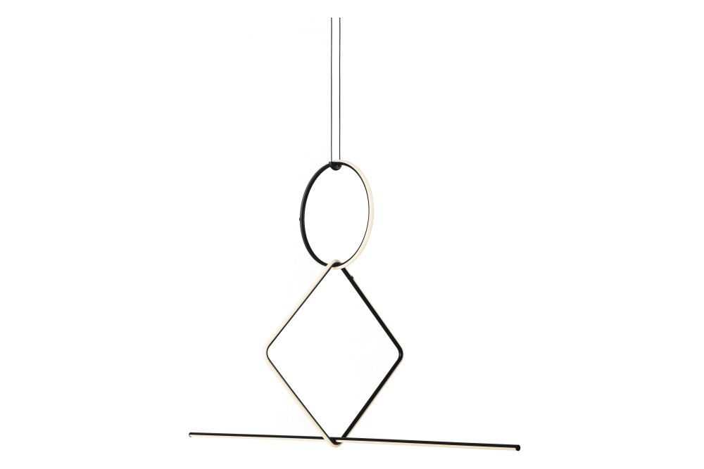 Arrangements 8B Chandelier by Flos