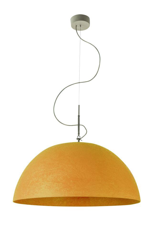 Mezza Luna Nebulite Pendant Light by in-es.artdesign
