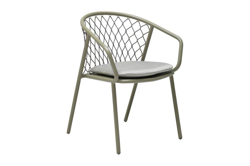 Nef Armchair Set Of 2 Matt White 23 Light Grey 32 By Emu Clippings