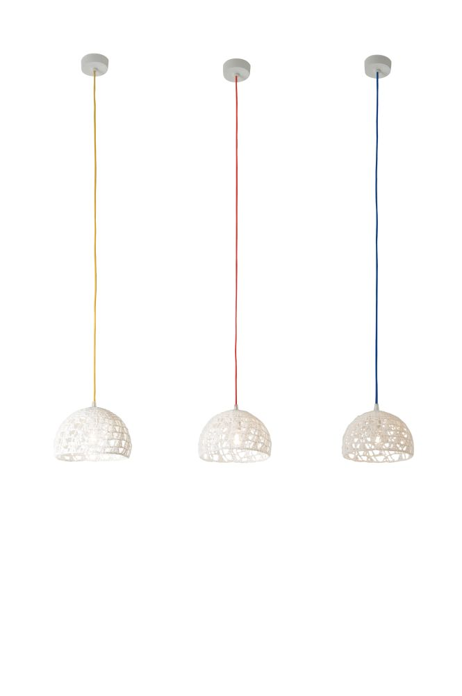 Trama 2 Pendant Light by in-es.artdesign