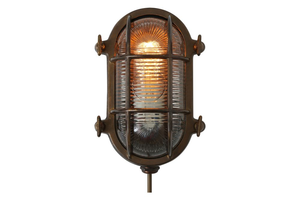 Ruben Small Oval Marine Wall Light by Mullan Lighting