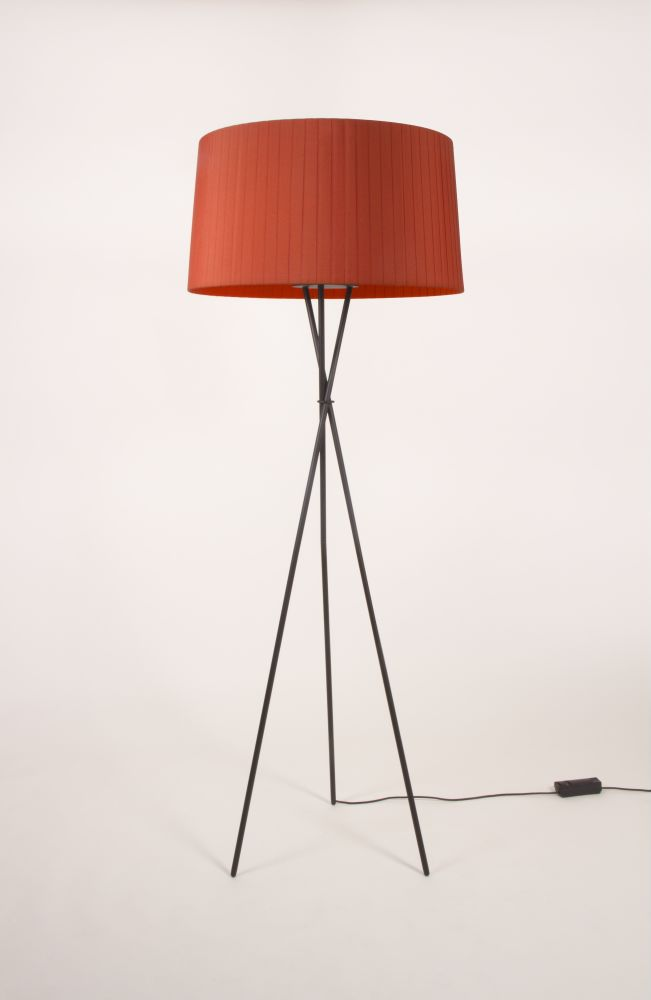 Trípode G6 Floor Lamp by Santa & Cole