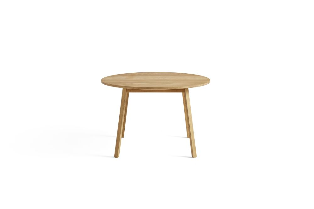 Triangle Leg Round Dining Table by Hay