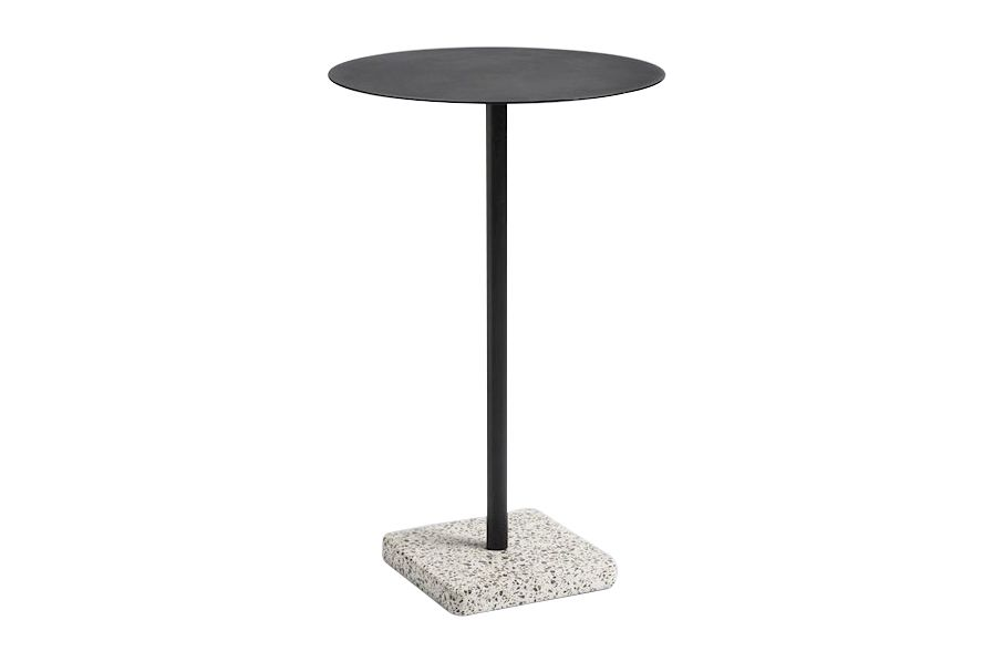 Terrazo Round High Table by Hay