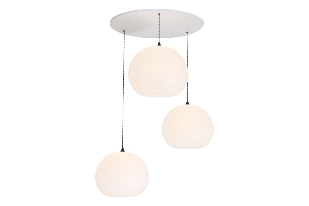 Polly Inverse 3-Drop Pendant Light by One Foot Taller