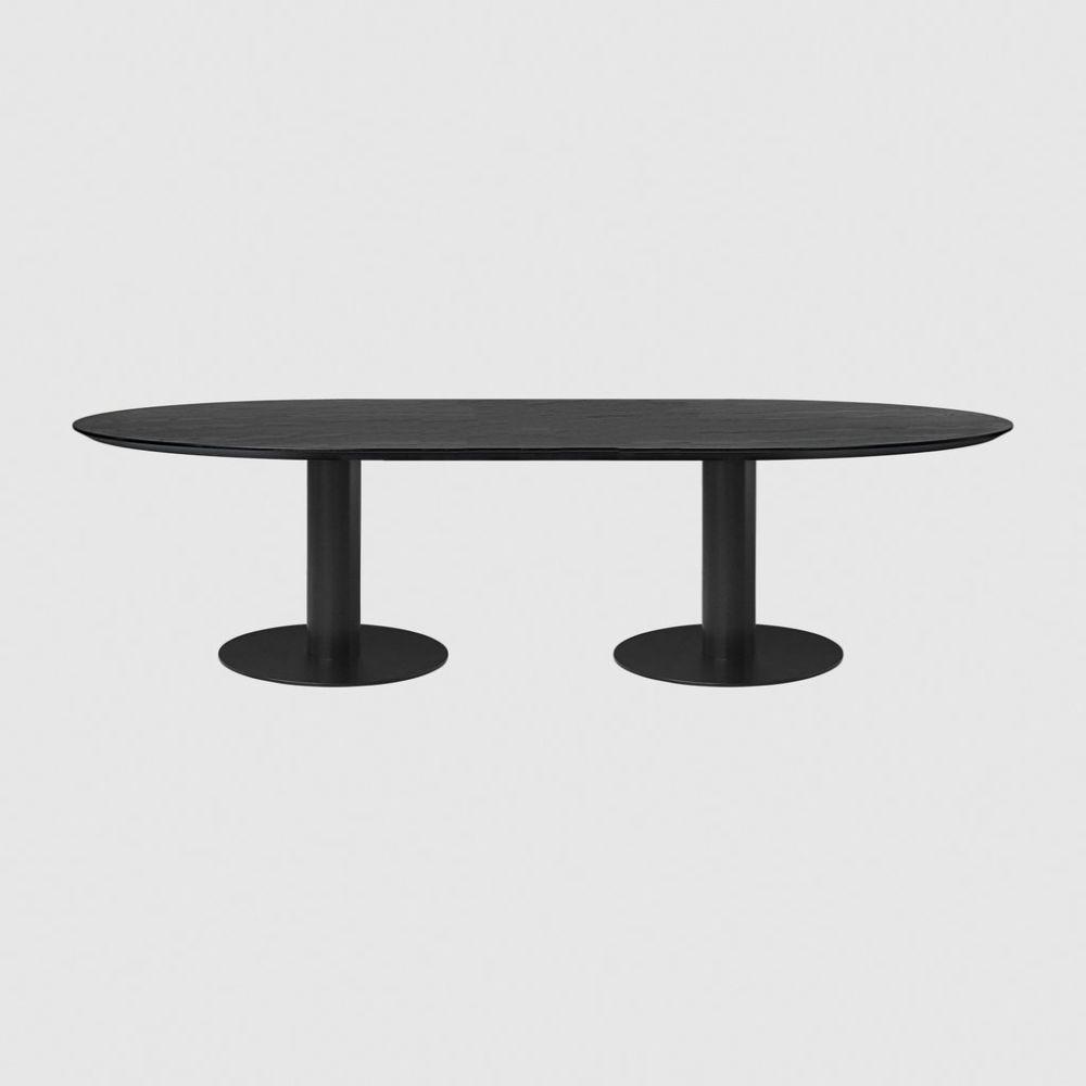 Gubi 2.0 Elliptical Dining Table - Laminate by Gubi