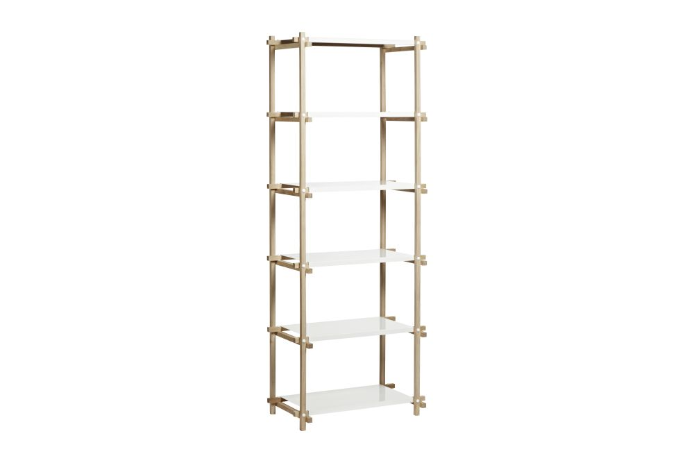 Woody Column Shelving System by Hay