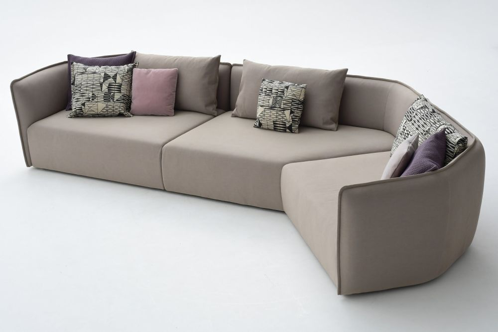 Chamfer A40 Composition Sofa by Moroso