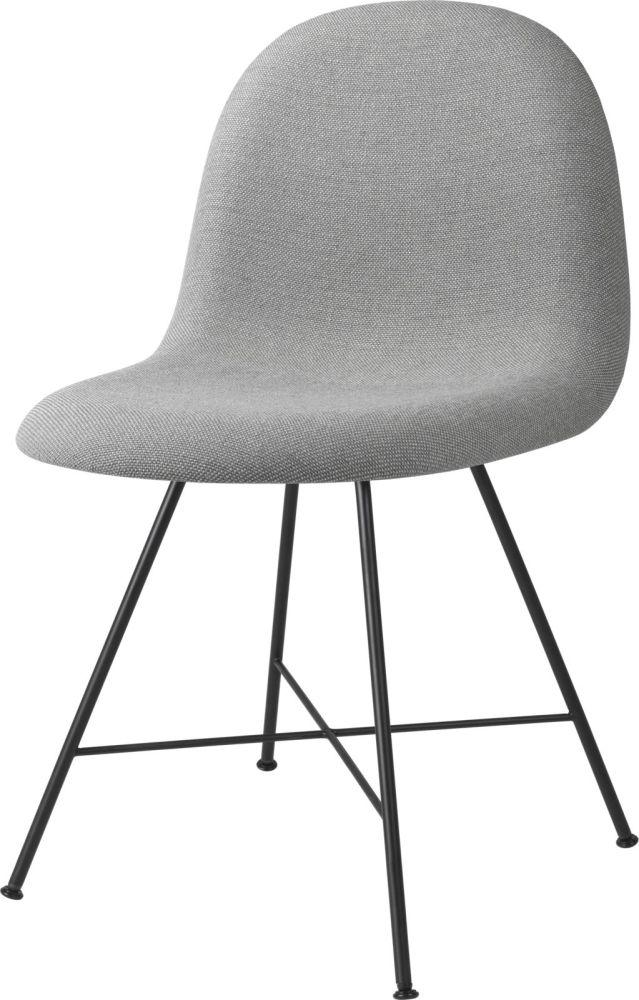 Gubi 3D Dining Chair Center Base - Fully Upholstered by Gubi