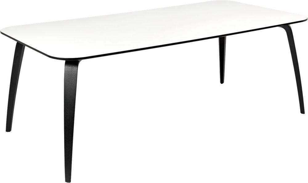 Gubi Dining Table - Rectangular by Gubi