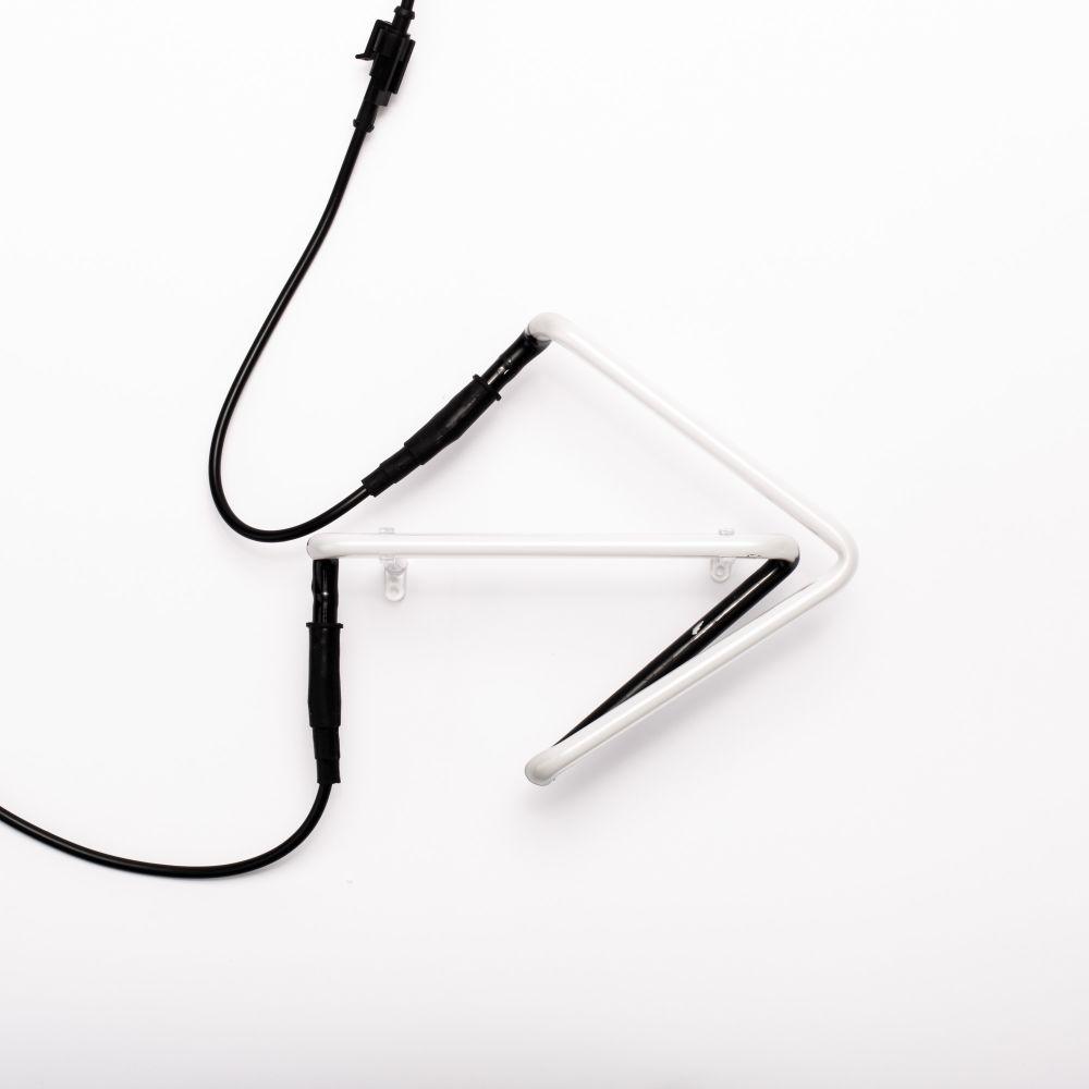 Neon Art Alphabet Lamp (Set of 2) by Seletti