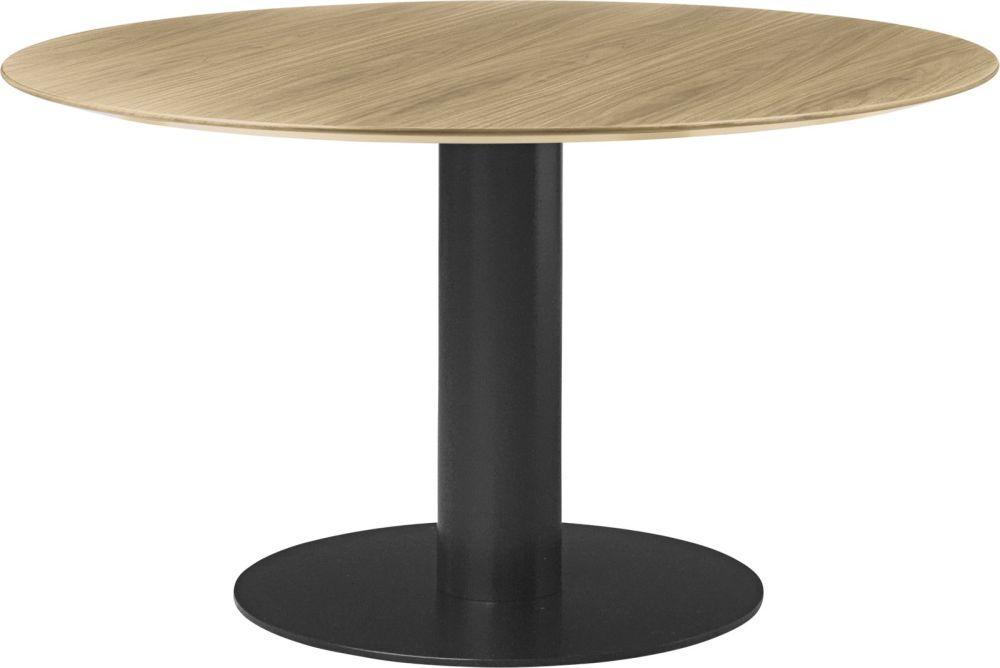 Gubi 2.0 Round Dining Table - Wood by Gubi