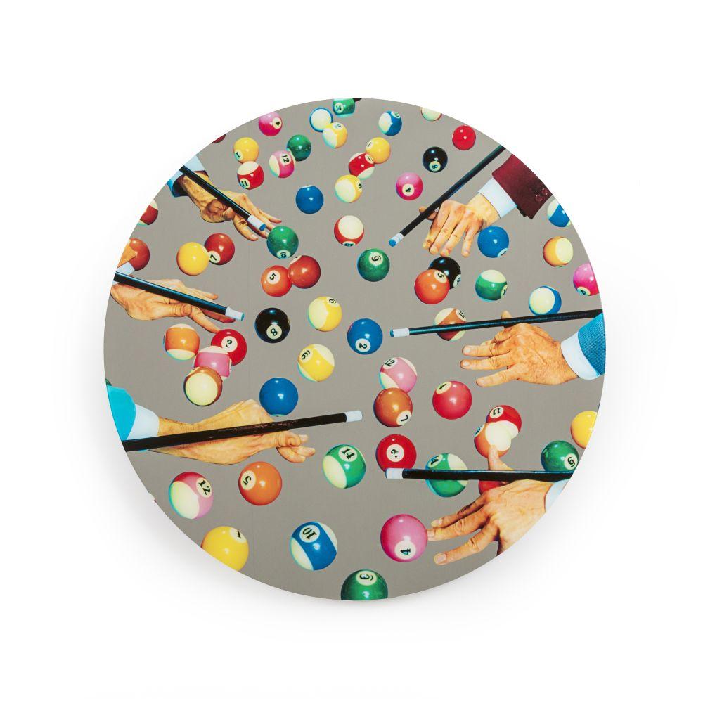 Toiletpaper Round Mirror by Seletti