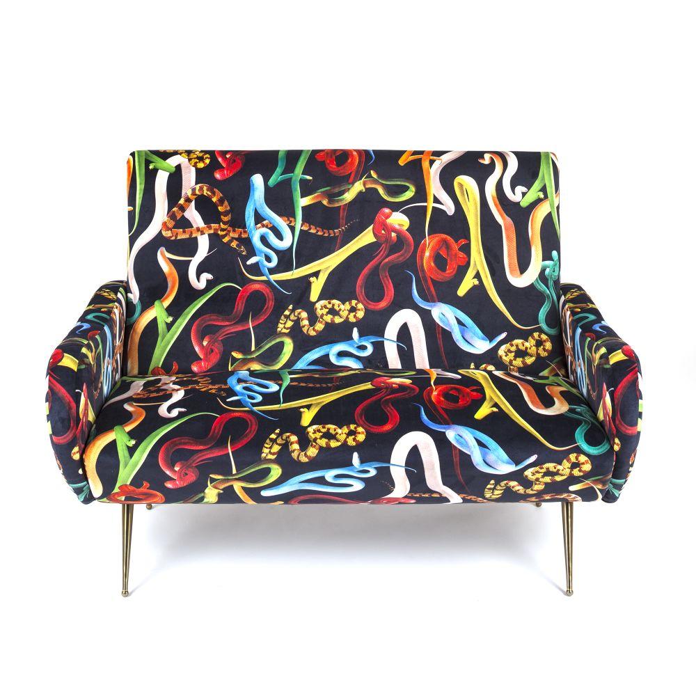 Toiletpaper 2 Seater Sofa by Seletti
