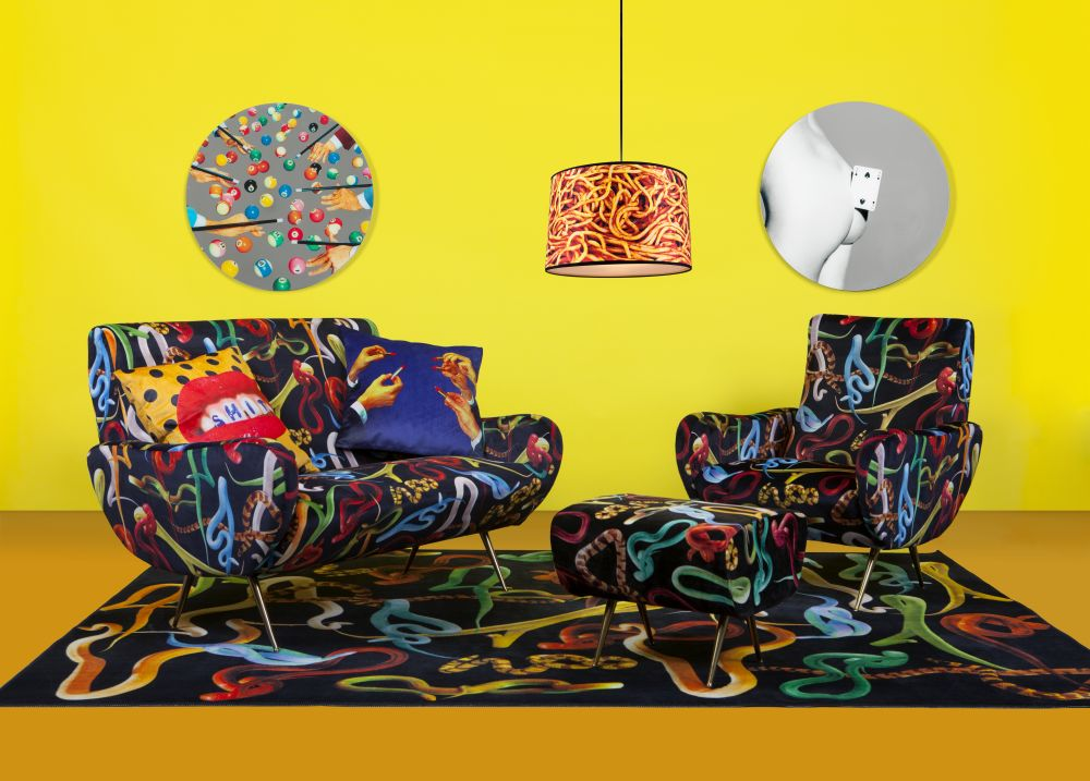 Toilet Paper Magazine.Toiletpaper 2 Seater Sofa By Seletti Clippings