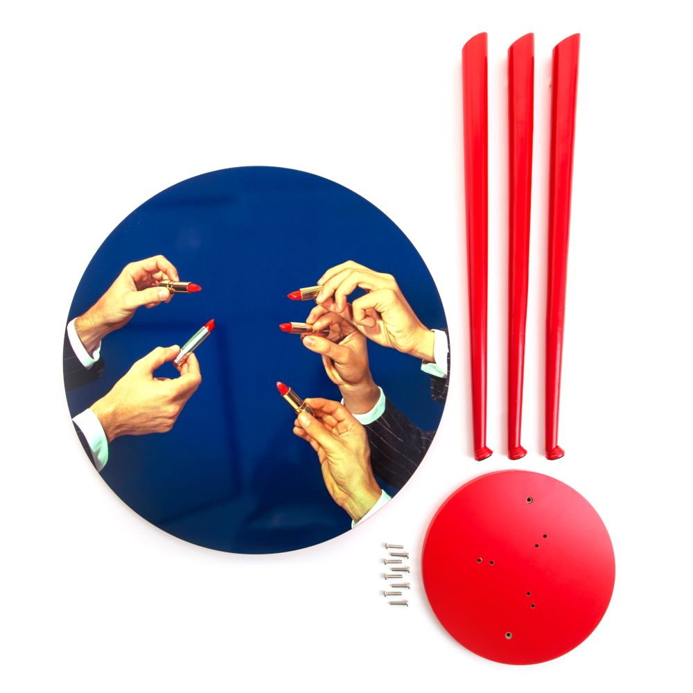 Toiletpaper Round Table by Seletti