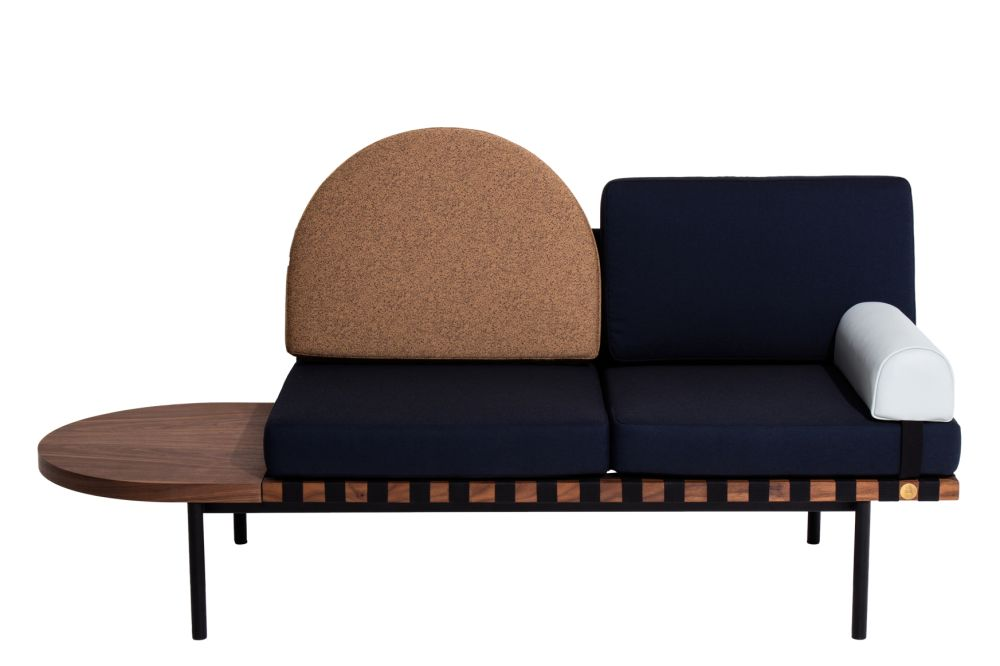 Grid Daybed - Villegiature Colour Range by Petite Friture