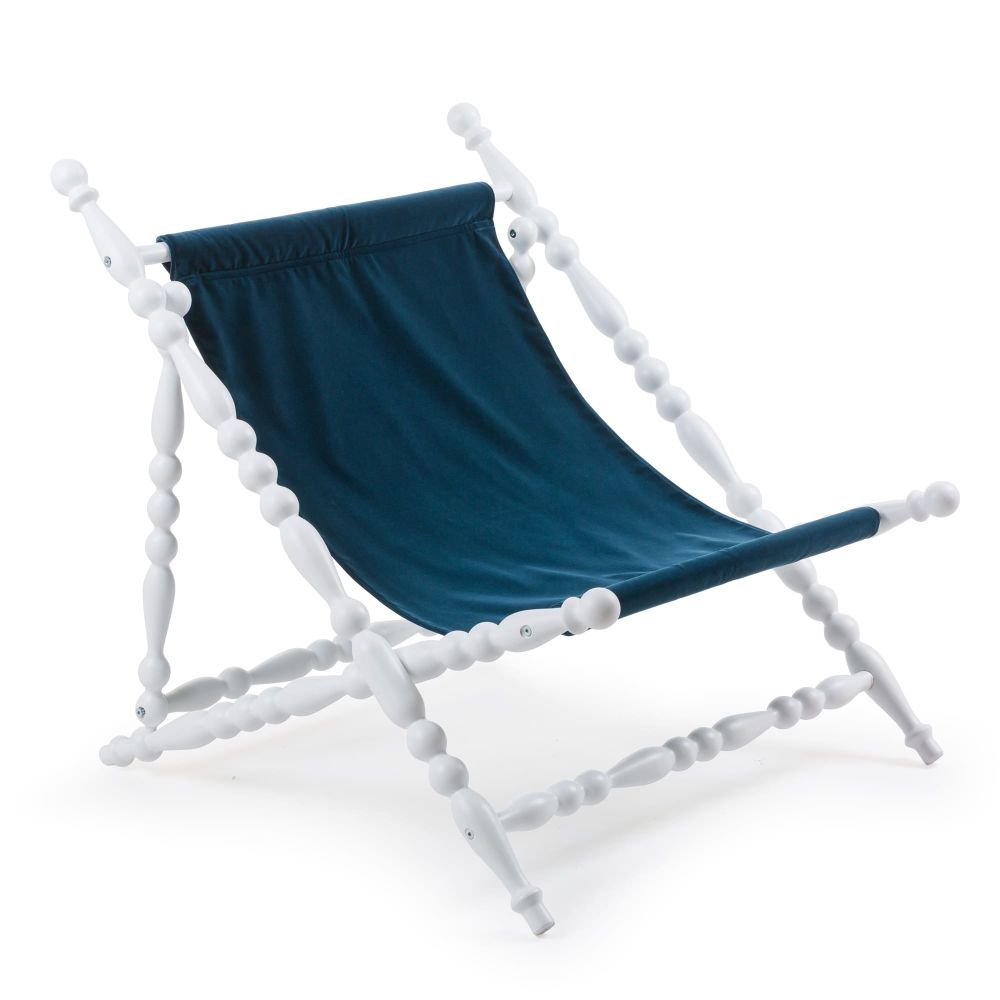 Heritage Foldable Deckchair by Seletti