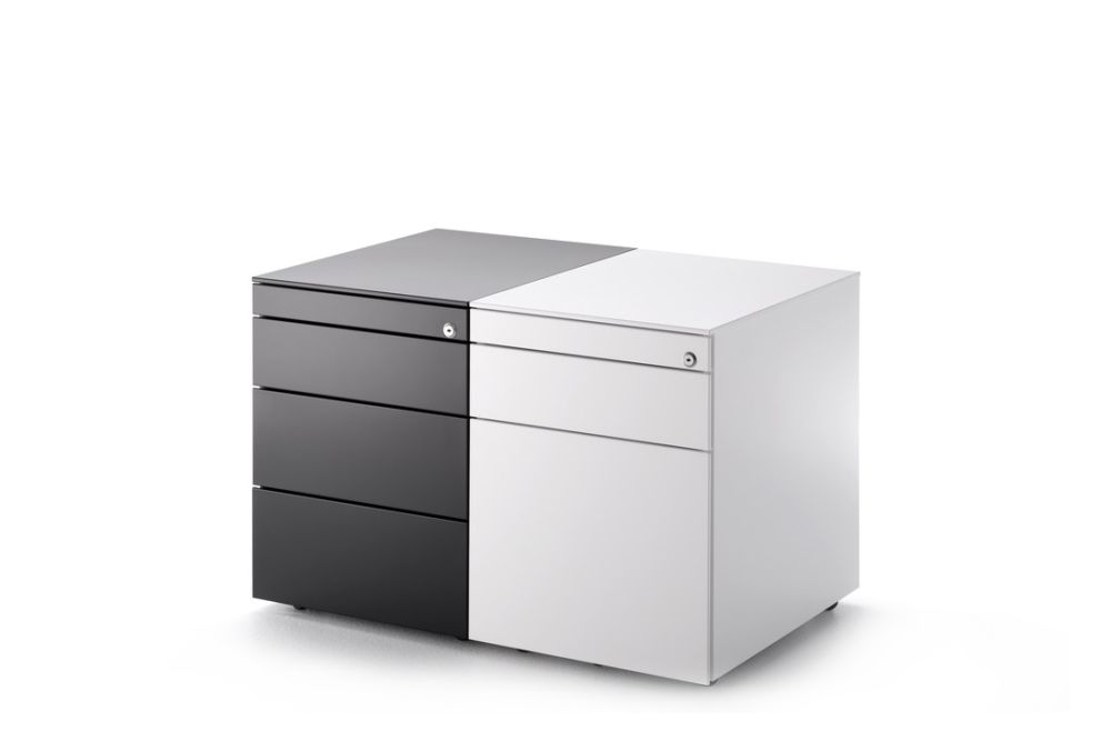 Office Cabinet, 1 Drawer Chest by MDF Italia