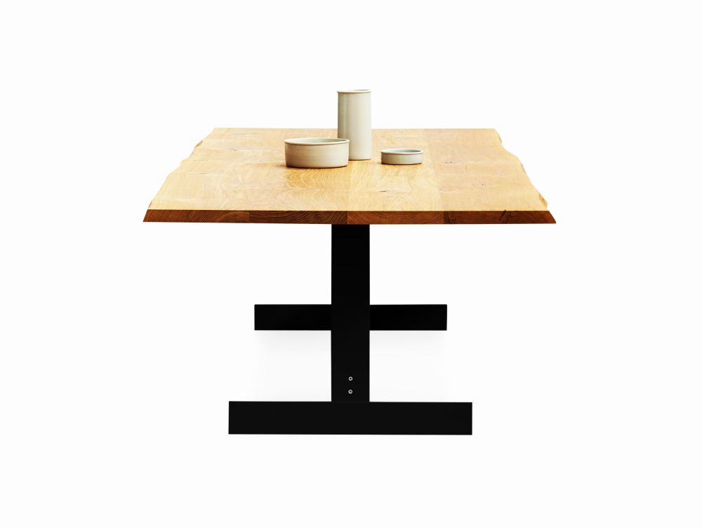 Kazimir Raw Dining Table by e15