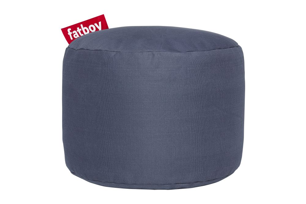 Point Stonewashed Stool by Fatboy