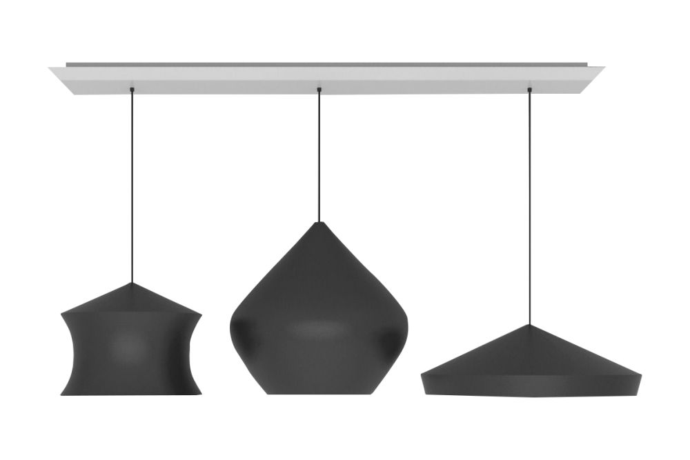 Beat Trio Linear Pendant System by Tom Dixon