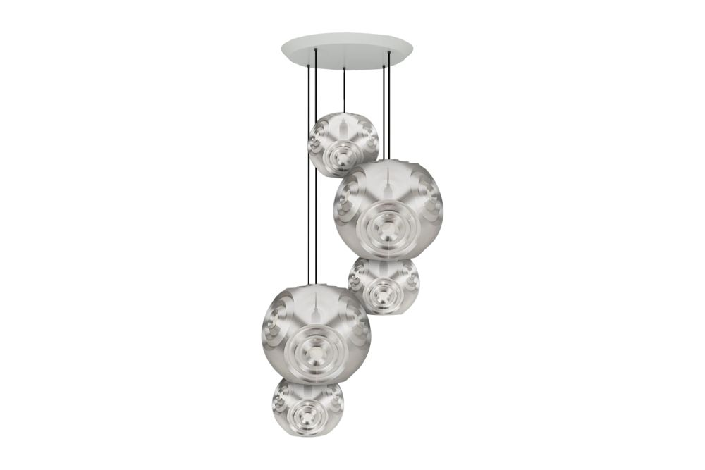 Curve Range Round Pendant System by Tom Dixon
