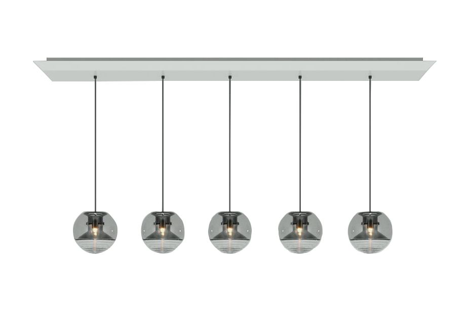 Flask Ball Linear Pendant System by Tom Dixon