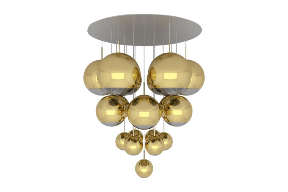 Mirror Ball Mega Pendant System by Tom Dixon