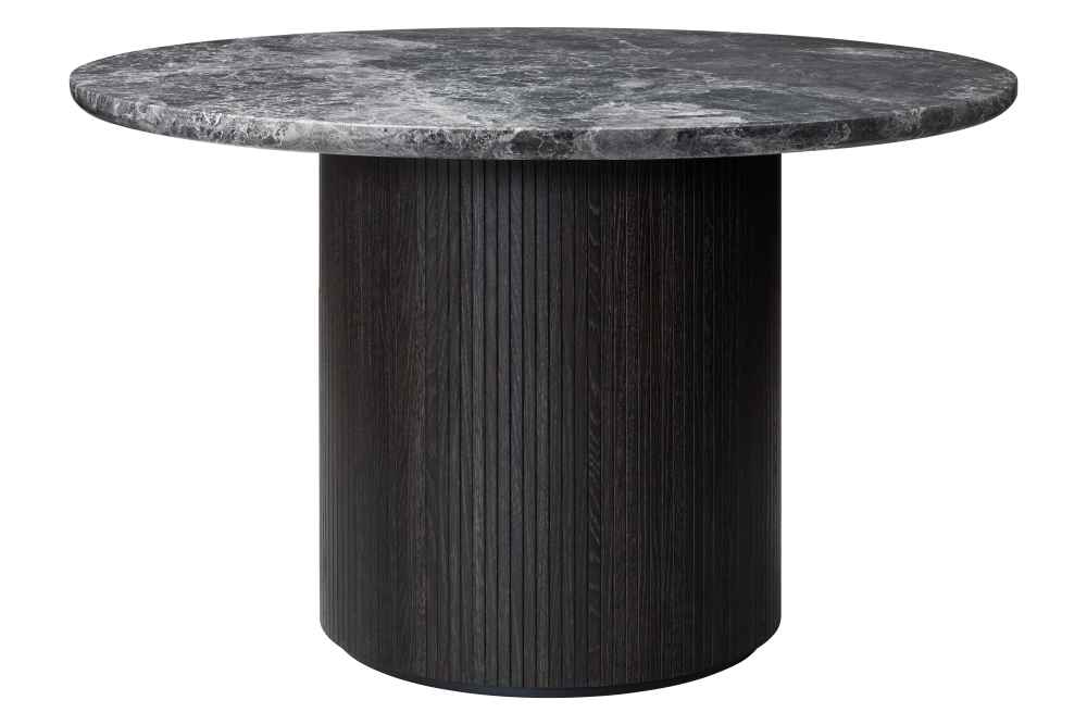 Moon Round Marble Dining Table by Gubi