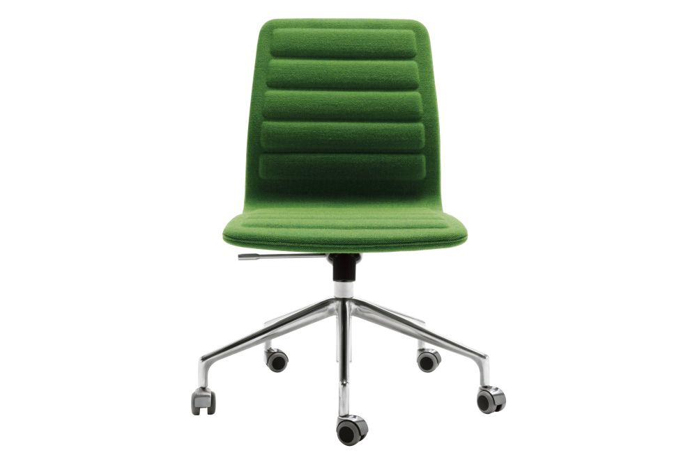 Lotus Low Chair 5 Spoke Base on Casters by Cappellini