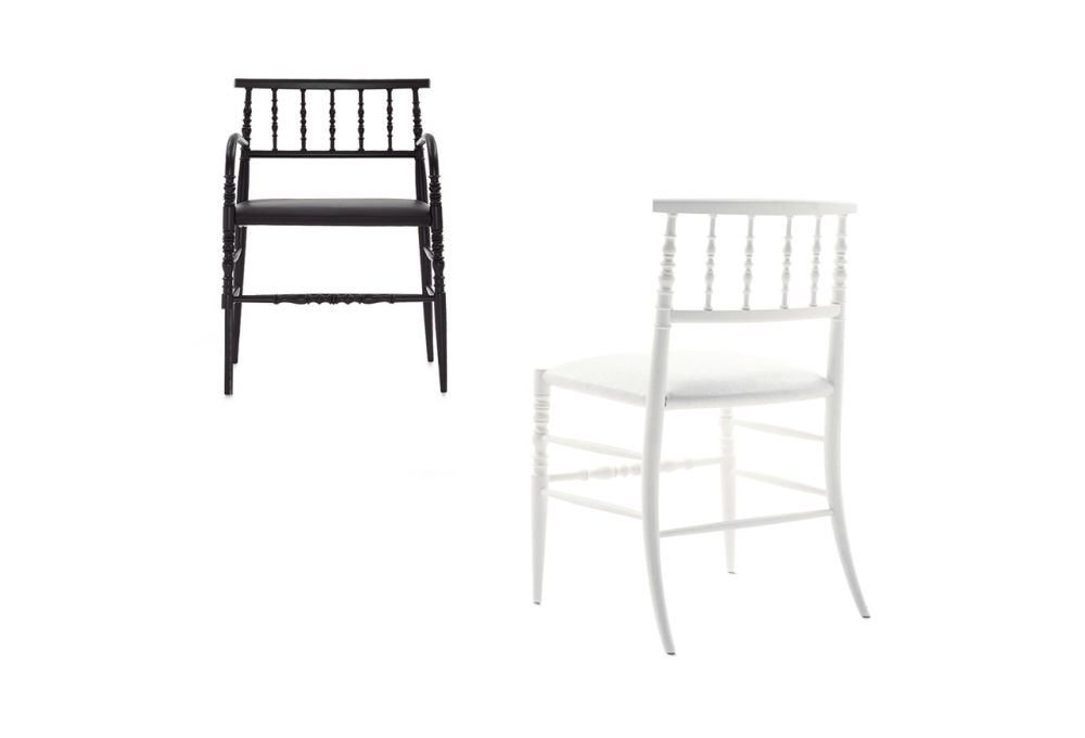 New Antiques Dining Chair by Cappellini