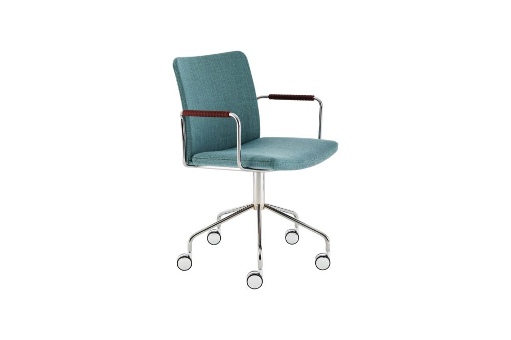 Stella Wheel Base Armchair by Swedese