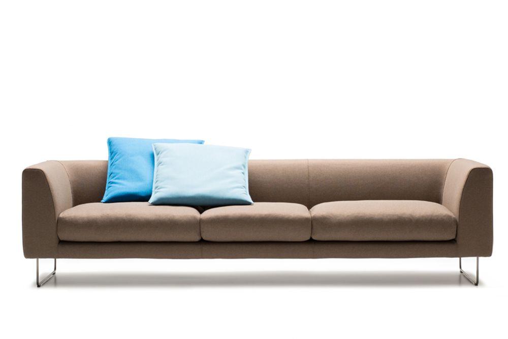 Elan 3 Seater Sofa by Cappellini