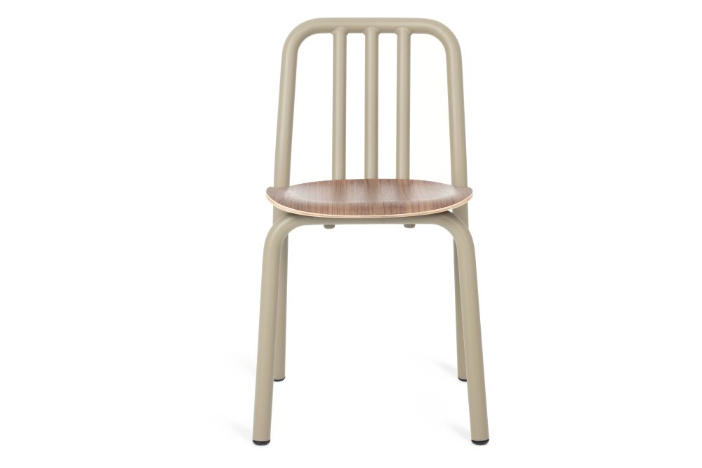 Tube Wooden Dining Chair by Mobles 114