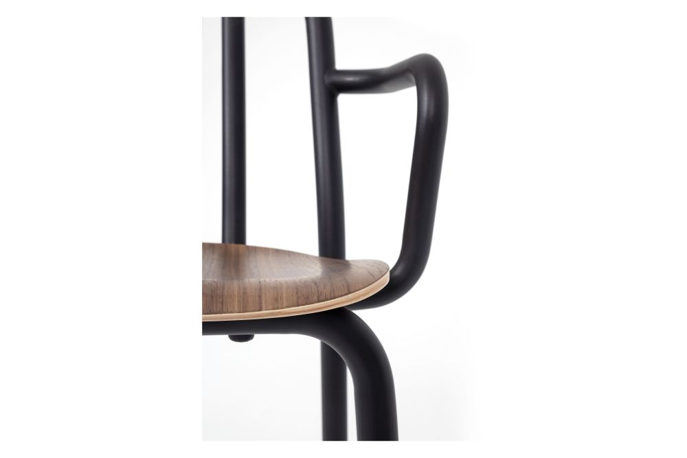 Tube Wooden Armchair by Mobles 114