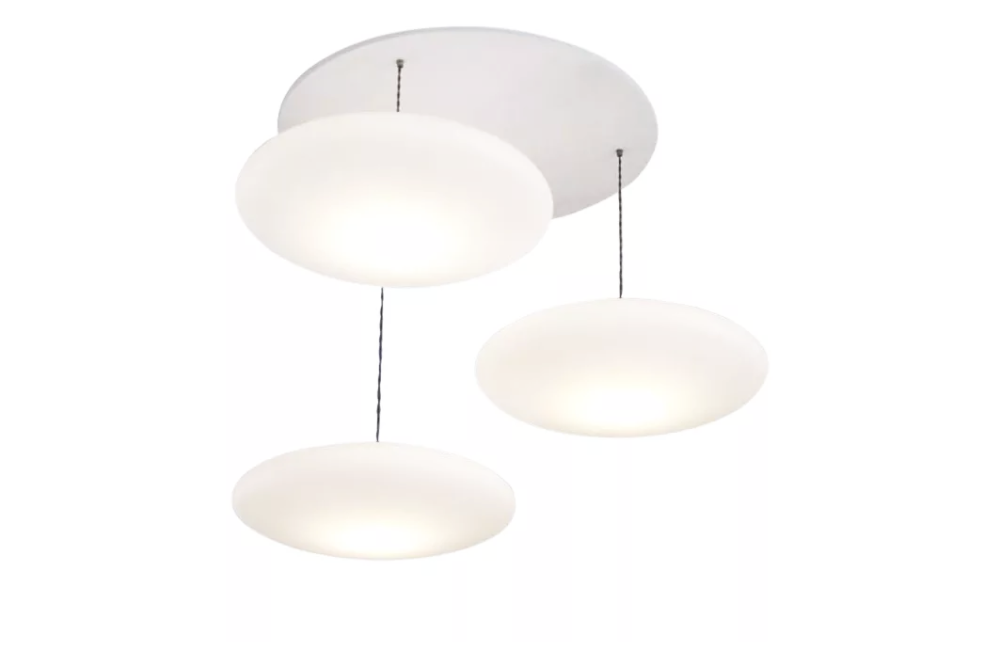 Ethel 3-Drop Pendant Light by One Foot Taller
