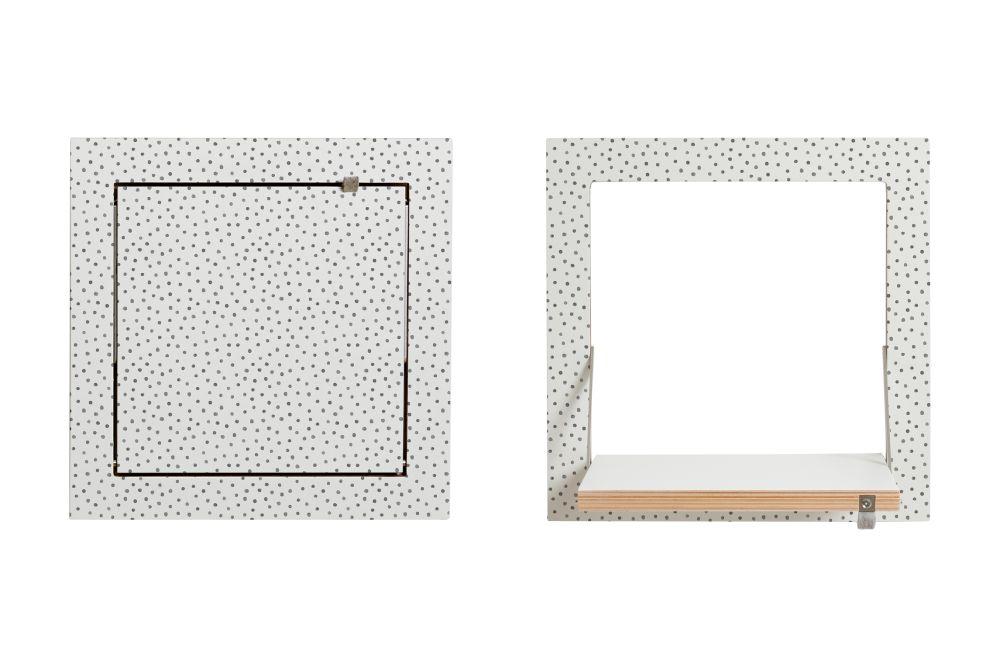 Fläpps Square Shelf by AMBIVALENZ