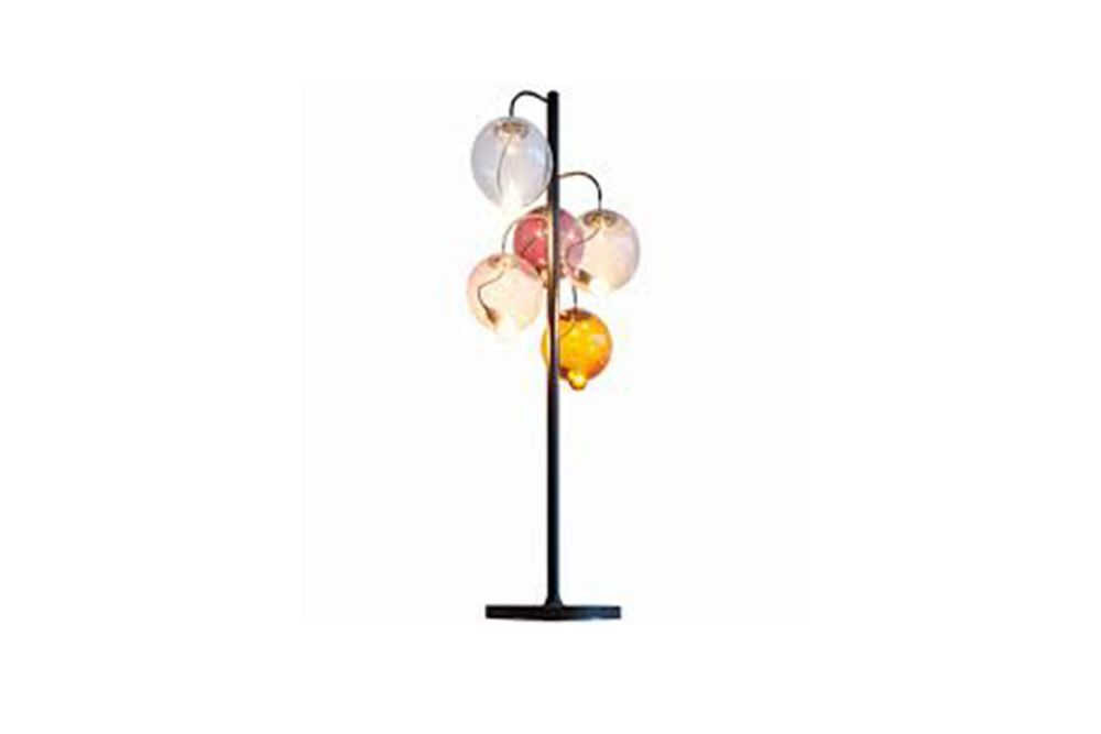 Meltdown Cluster Floor Lamp 5 Diffuser by Cappellini