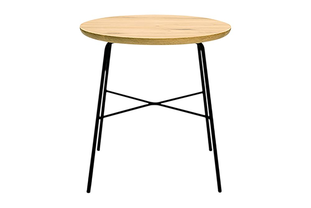 Disc Round Side Table by Ethnicraft