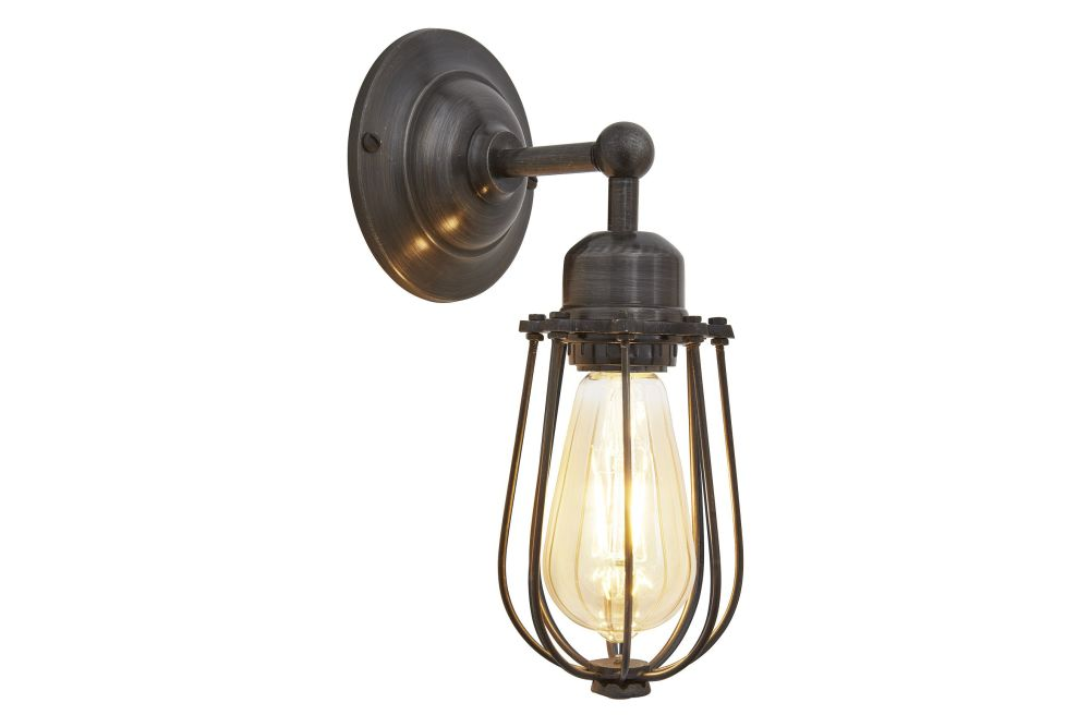 Orlando Wire Cage Wall Light by INDUSTVILLE