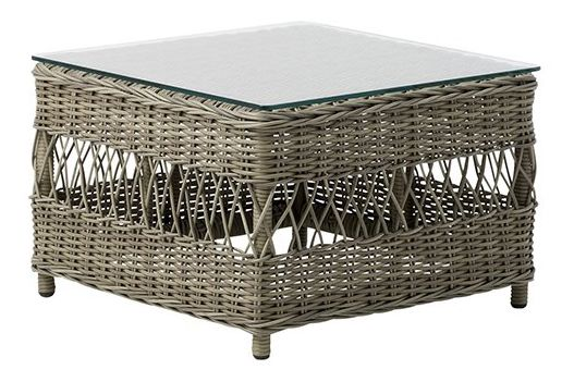 Anna Side Table With Glass Top by Sika Design