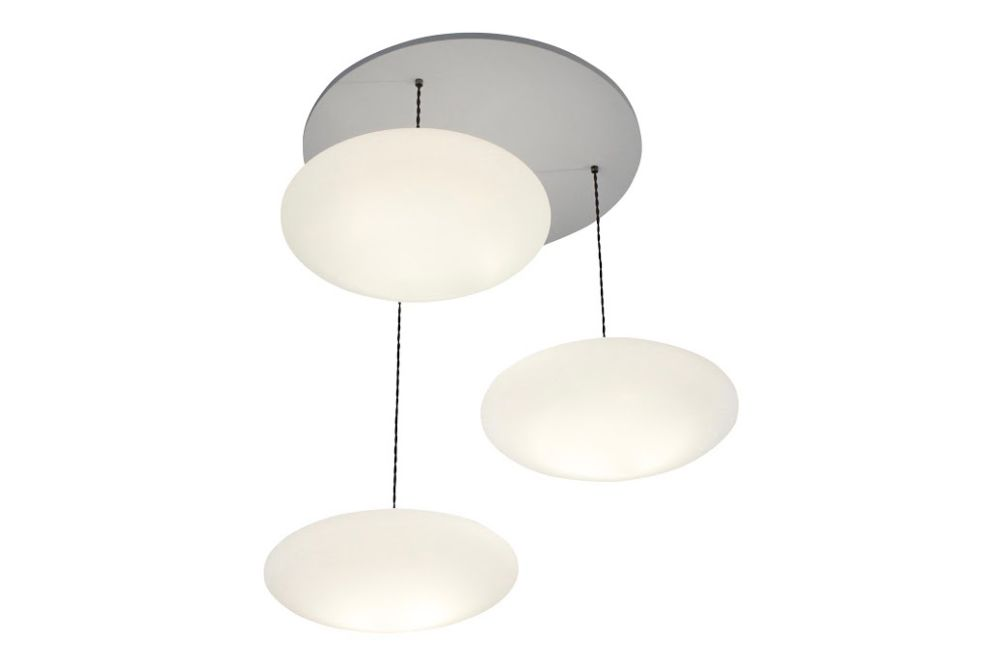 Etheletta 3 Drop Pendant Light by One Foot Taller