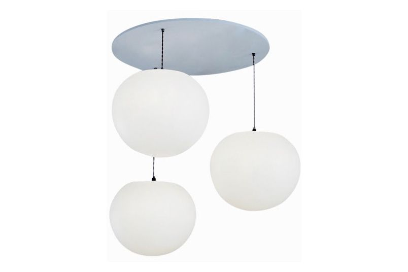 Polly 3-Drop Pendant Light by One Foot Taller
