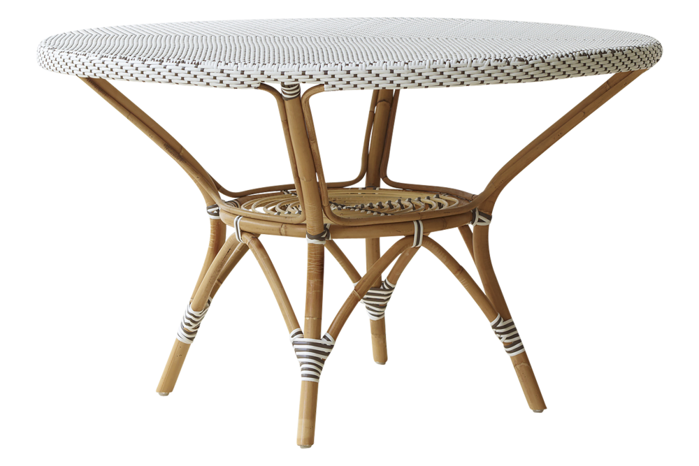 Danielle Dining Table with Glass Top by Sika Design