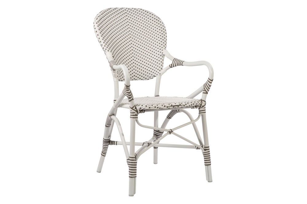 Isabell Aluminium Armchair Set of 2 by Sika Design