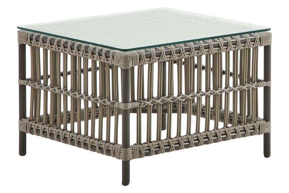 Caroline Table With Glass Top by Sika Design