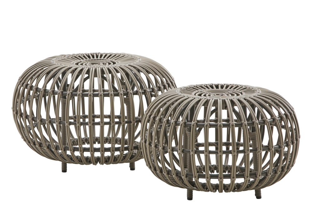 Ottoman Outdoor Small Set of 2 by Sika Design