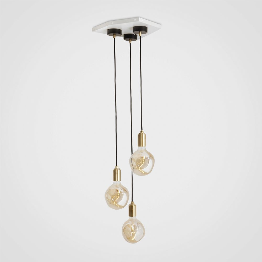 Voronoi I Brass Ceiling Light  by Tala